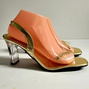 Nightcast Heels Size 9.5 Wide